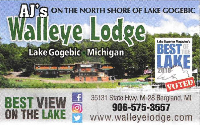 Walleye Lodge Card